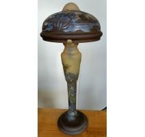 Lampe N°1 style GALLÉ Libellules
