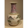 Vase chinois décor paysage