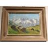 """Tableau """"Montagne"""" signé G. MULLER"""