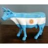 "Vache miniature ""Drapeau Argentin"""