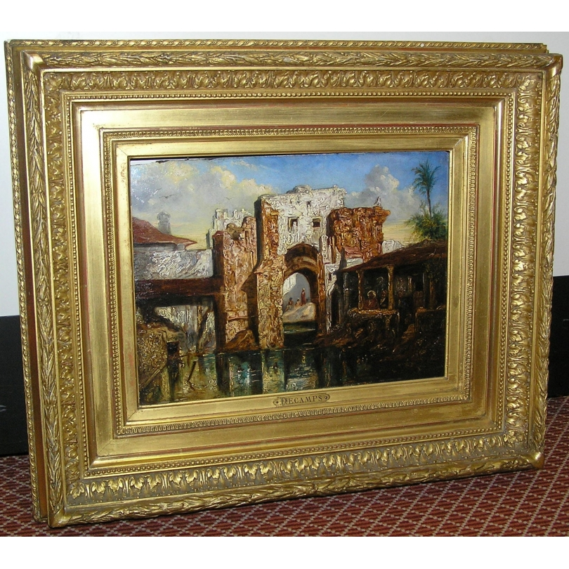 Peintures   Tableau orientaliste Moinat SA - Antiquités ...