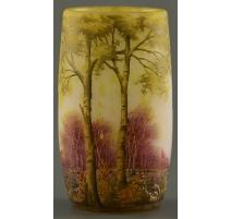 Vase of conical form DAUM.