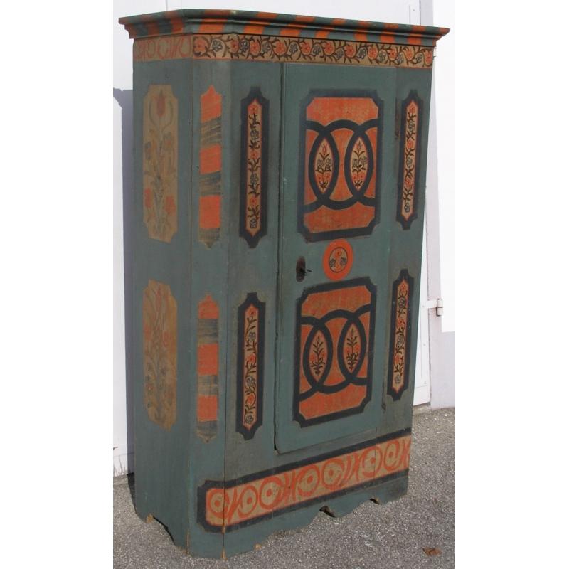Armoire 1 porte sur moinat sa antiquit s d coration for Decoration porte armoire