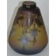 Vase conique, signé GALLÉ.