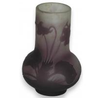 Vase bulb GALLÉ.