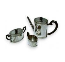 Service à thé en argnet 800 de JEZLER
