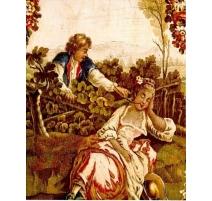 """Tapestry Goblin """"Scene galante""""."""