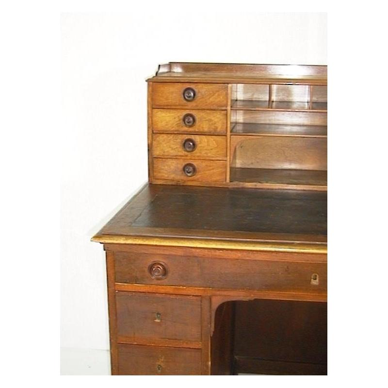 bureau plat directoire tiroirs sur moinat sa antiquit s d coration. Black Bedroom Furniture Sets. Home Design Ideas