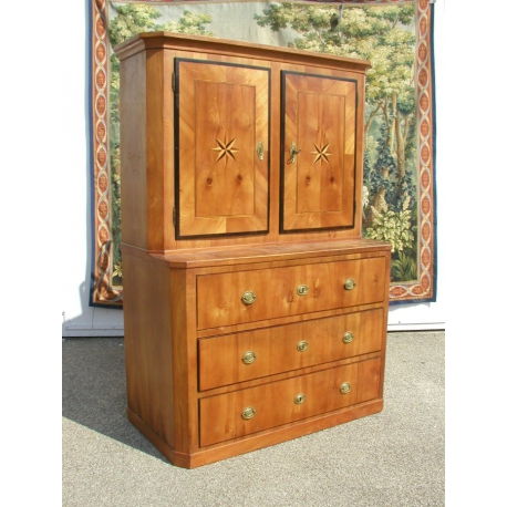 buffet commode ouvrant avec 2 portes sur moinat sa antiquit s d coration. Black Bedroom Furniture Sets. Home Design Ideas