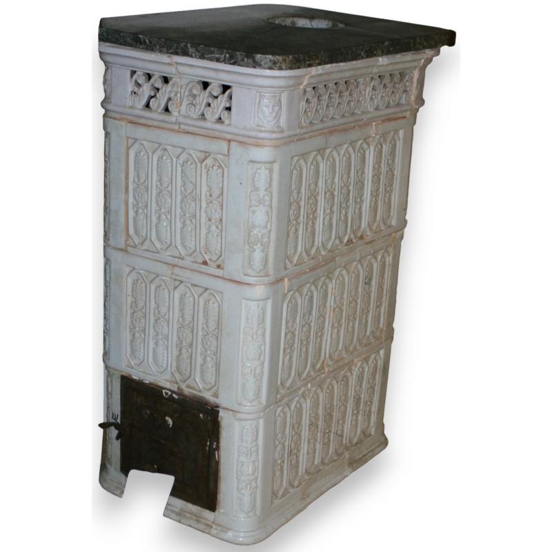 po le alsacien rectangulaire sur moinat sa antiquit s. Black Bedroom Furniture Sets. Home Design Ideas
