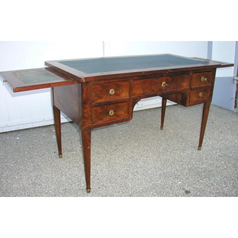 bureau empire avec 5 tiroirs et 2 tirettes sur moinat sa. Black Bedroom Furniture Sets. Home Design Ideas