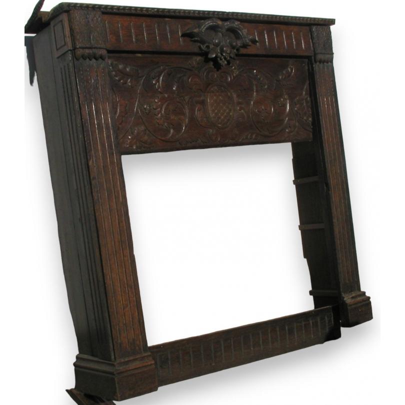 encadrement de chemin e louis xvi sur moinat sa. Black Bedroom Furniture Sets. Home Design Ideas