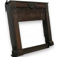 Louis XVI fireplace.