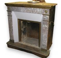 Paris fireplace.