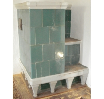 Directoire tile stove.