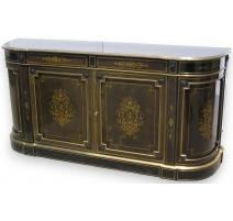 Napoleon III brass inlay crede