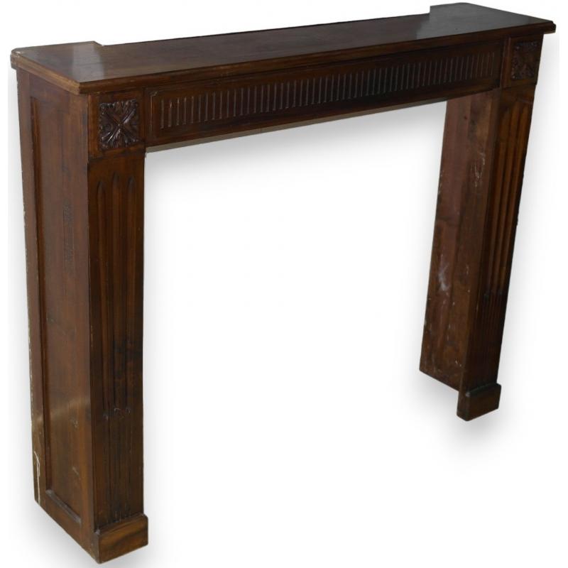 chemin e louis xvi sur moinat sa antiquit s d coration. Black Bedroom Furniture Sets. Home Design Ideas