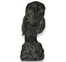 """Bronze """"the Owl"""", CHRISTEV."""