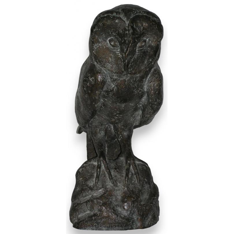 "Bronze ""Hibou"", CHRISTEV."