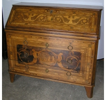 Bureau commode Louis XVI.