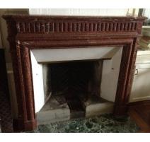 Fireplace Louis XVI.