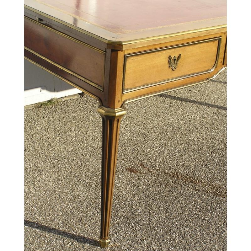 bureau louis xvi sur moinat sa antiquit s d coration. Black Bedroom Furniture Sets. Home Design Ideas