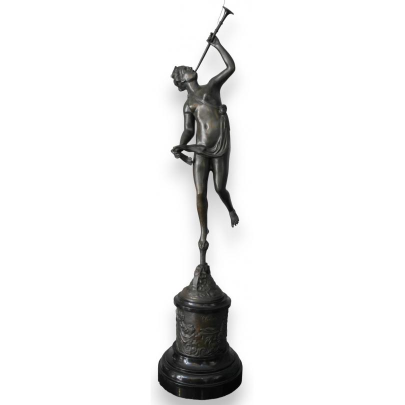 """Bronze """"La Renommée"""" de BOLOGNE"""