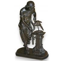 "Bronze ""Jeune homme""."