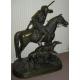 """Bronze """"Cavalier et 2 lévriers"""