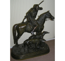Bronze Horseman, and 2 greyhounds