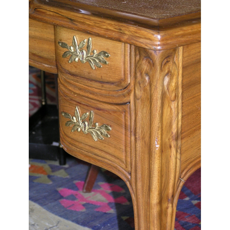 bureau art nouveau sign majorelle sur moinat sa antiquit s d coration. Black Bedroom Furniture Sets. Home Design Ideas