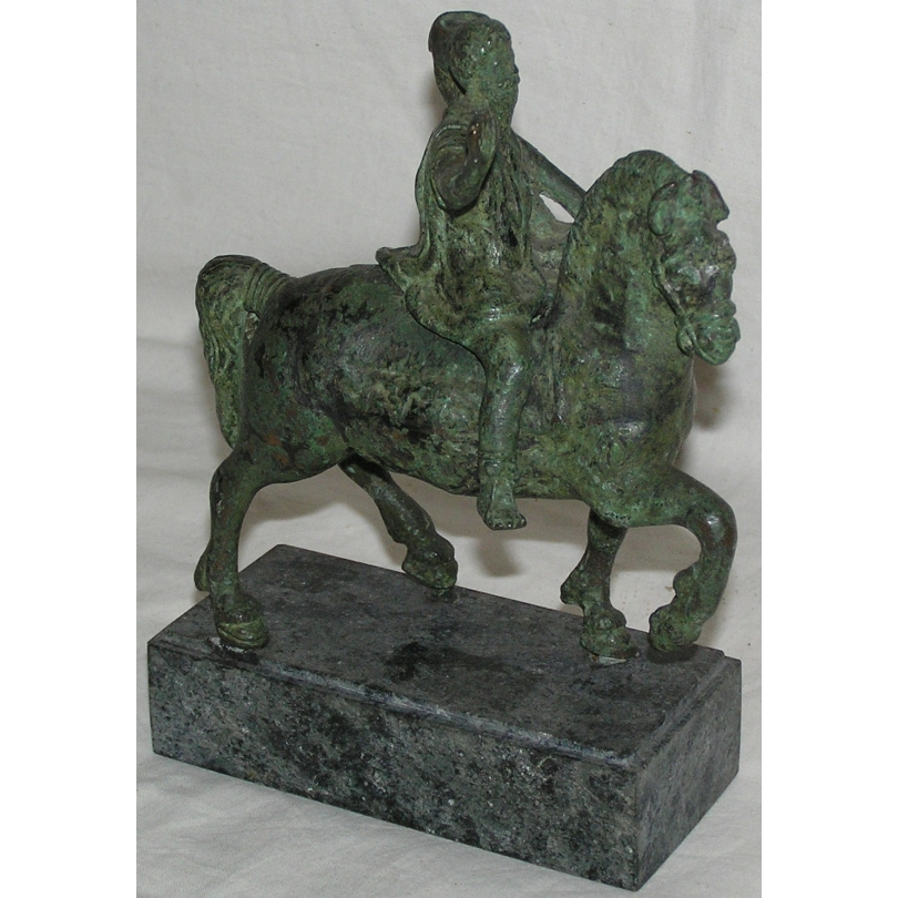 "Bronze ""Chevalier romain""."