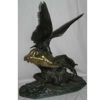 "Bronze ""Eagle and ibex""."