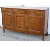 Buffet Louis XV inlaid.
