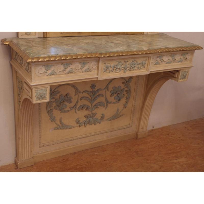 console style louis xvi sur moinat sa antiquit s d coration. Black Bedroom Furniture Sets. Home Design Ideas