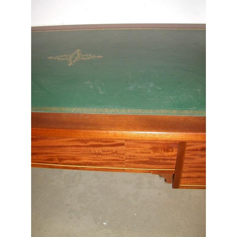 bureau pinette transform dessus cuir vert sur moinat sa antiquit s d coration. Black Bedroom Furniture Sets. Home Design Ideas
