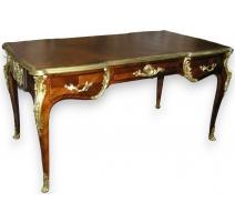 Bureau plat in Louis XV style