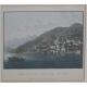 """Lot de 32 gravures """"Lac de Côme, Lecca et Lugano"""""""