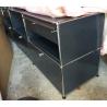 Meuble à tiroirs USM, 3 grand tiroirs et 4 petits