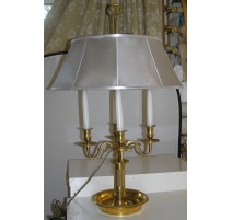 Lamp bouillotte Louis XVI style with 4 lights.