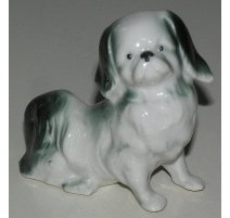 "Sculpture Dog sitting ""Spaniel Tibetan"""