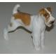 Sculpture Chien  Airedale Terrier .