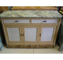 Buffet style Directoire, painted blue
