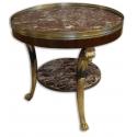 Pedestal tables