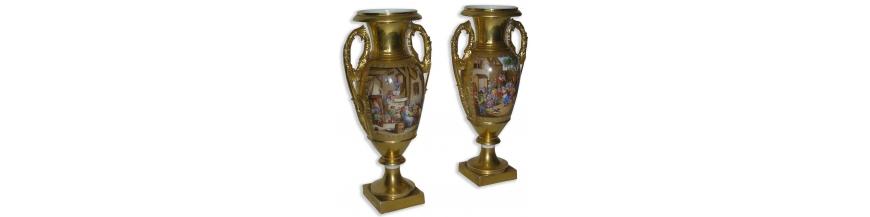 Porcelaines, Faïences